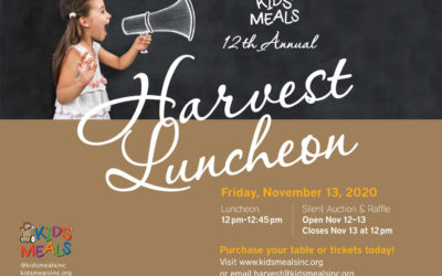 12th Annual (virtual) Harvest Luncheon is coming up!